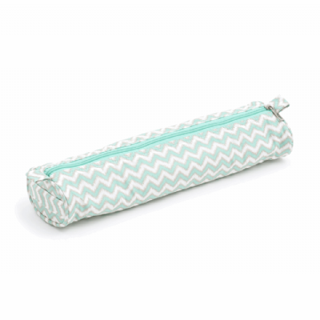 Hobbygift Knitting Needle Case [Mint Chevron]